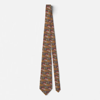 Mackerels, Lemons and Tomatoes by Vincent van Gogh Tie