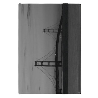 Mackinac Bridge At Dusk Grayscale iPad Mini Case