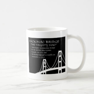 Mackinac Bridge Facts Coffee Mug