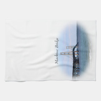 Mackinac Bridge Kitchen Towel