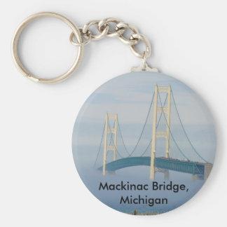 Mackinac Bridge, Michigan Keychain