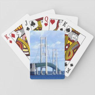 """""""Mackinac Bridge Playing Cards"""" Playing Cards"""