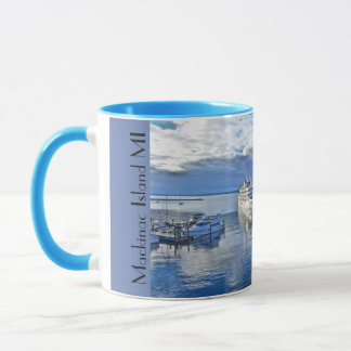 Mackinac Island Docks Mug