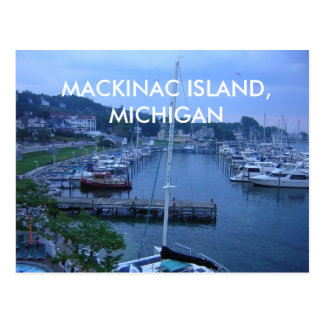 MACKINAC ISLAND, MICHIGAN POST CARD