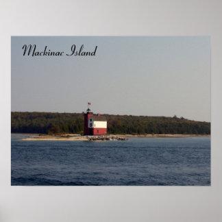 Mackinac Island Series Poster