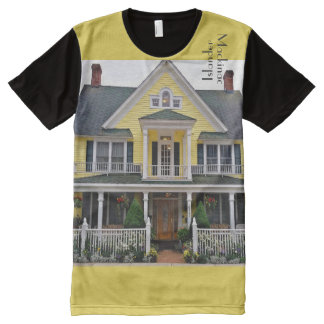 Mackinac Islander Cottage B&B All-Over-Print T-Shirt
