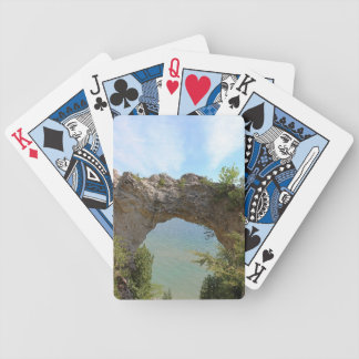 Mackinac Island's Arch Rock Playing Cards