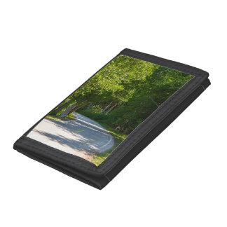 Mackinac Lake Shore Drive Trifold Wallet