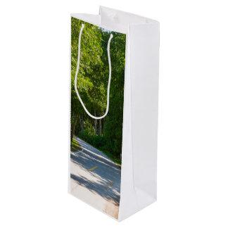 Mackinac Lake Shore Drive Wine Gift Bag