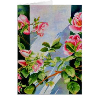 Mackinac Rose Card