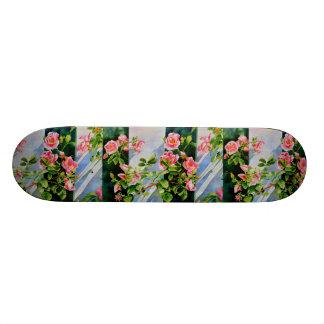 Mackinac Rose Skate Board