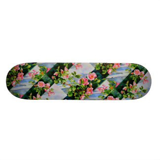 Mackinac Rose Skate Board Deck