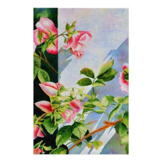 Mackinac Rose Stationery Paper