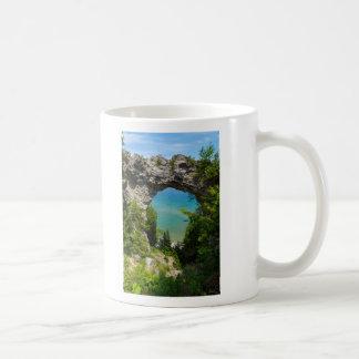 Mackinacs Arch Rock Coffee Mug
