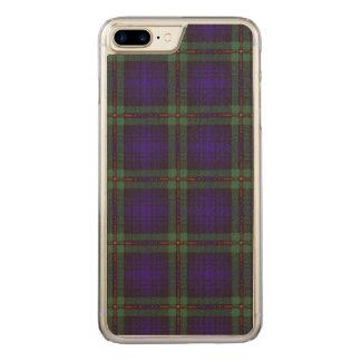 Mackinlay clan Plaid Scottish tartan Carved iPhone 8 Plus/7 Plus Case
