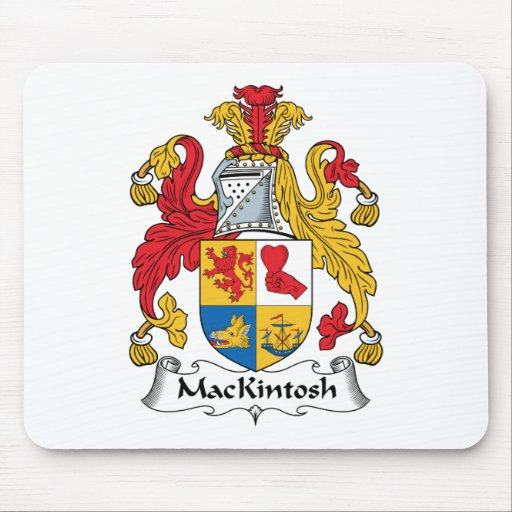 MacKintosh Family Crest Mouse Pads