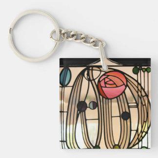Mackintosh - Stained Glass Window Keychain