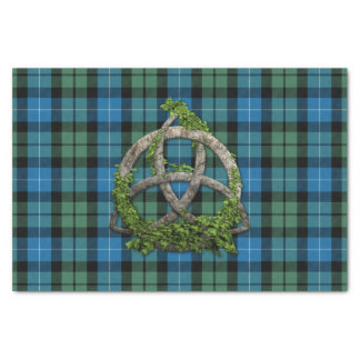 MacKirdy Tartan And Celtic Trinity Knot Tissue Paper