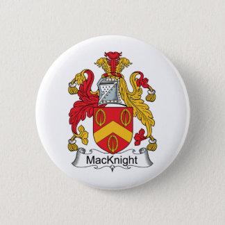 MacKnight Family Crest 2 Inch Round Button