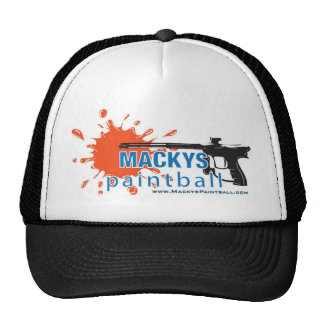 Macky's Paintball Trucker Hat