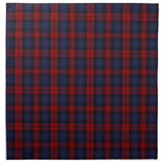 MacLachlan /  McLaughlin Clan Tartan Printed Napkin