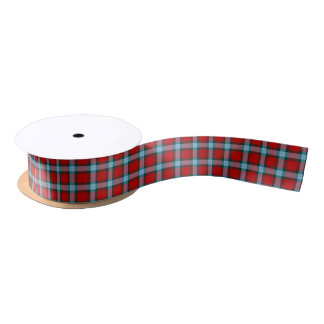 MacLaine of Lochbuie Clan Tartan Satin Ribbon