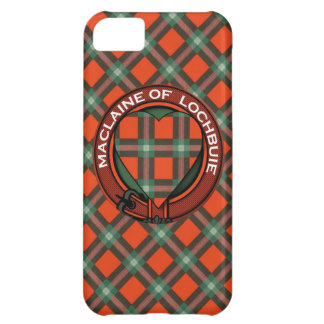 Maclaine of Lochbuie Scottish Tartan Cover For iPhone 5C