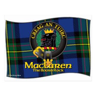 MacLaren Clan Postcard