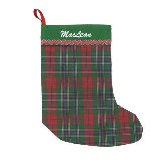 MacLean Clan Custom Christmas Stocking