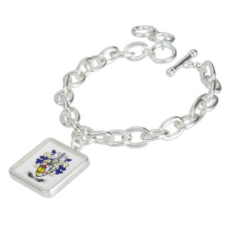 MacLean Family Crest Coat of Arms Charm Bracelets