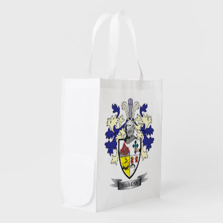 MacLean Family Crest Coat of Arms Market Totes