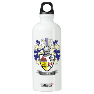 MacLean Family Crest Coat of Arms Water Bottle