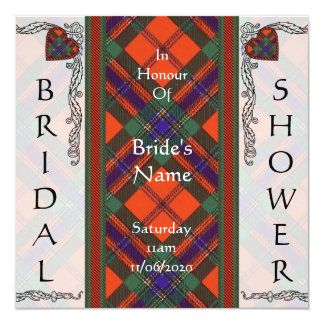Maclean of Duart Scottish Tartan Card