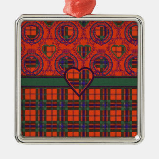 Maclean of Duart Scottish tartan Metal Ornament