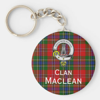 Maclean of Duart Tartan Keychain