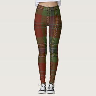 MacLean Tartan Clan Plaid Leggings