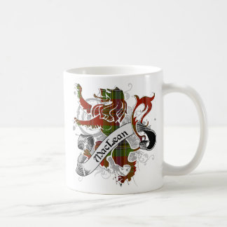 MacLean Tartan Lion Coffee Mug