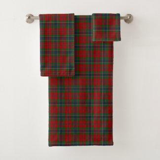 Maclean Tartan Scottish Modern MacLean of Duart Bath Towel Set
