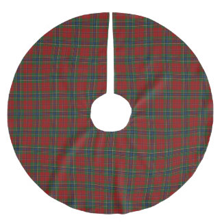 Maclean Tartan Scottish Modern MacLean of Duart Brushed Polyester Tree Skirt