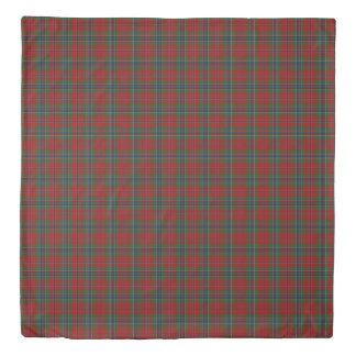 Maclean Tartan Scottish Modern MacLean of Duart Duvet Cover