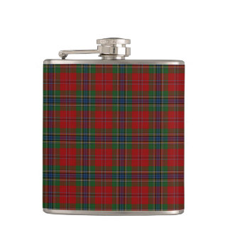 Maclean Tartan Scottish Modern MacLean of Duart Hip Flask