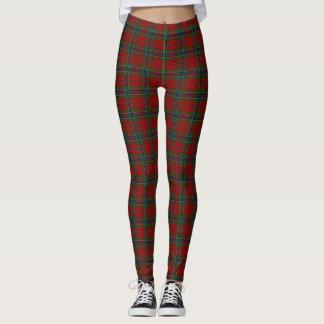 Maclean Tartan Scottish Modern MacLean of Duart Leggings