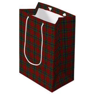 Maclean Tartan Scottish Modern MacLean of Duart Medium Gift Bag