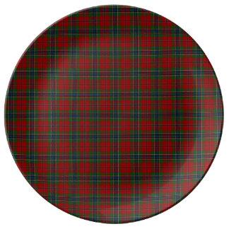 Maclean Tartan Scottish Modern MacLean of Duart Plate