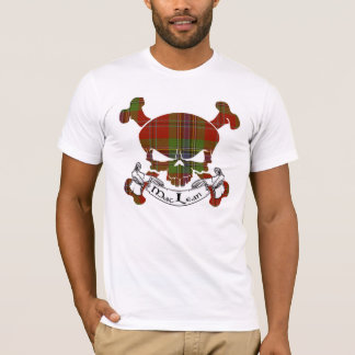 MacLean Tartan Skull T-Shirt