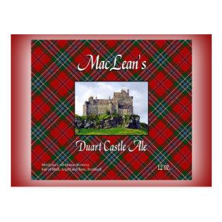 MacLean's Duart Castle Ale Postcard