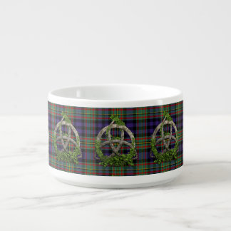MacLellan Tartan And Celtic Trinity Knot Bowl