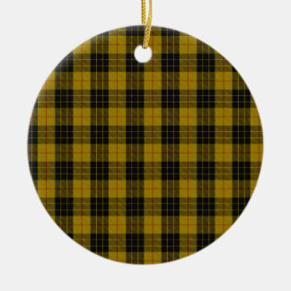 "MacLeod Clan Tartan (aka ""Loud MacLeod"") Ceramic Ornament"