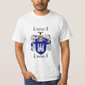 Macleod Family Crest - Macleod Coat of Arms T-Shirt