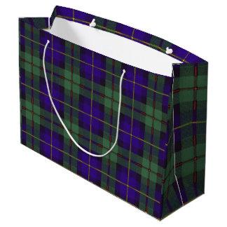 Macleod of Harris clan Plaid Scottish tartan Large Gift Bag